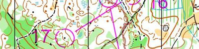 Night middle distance (N9 3/9) (16.01.2015)